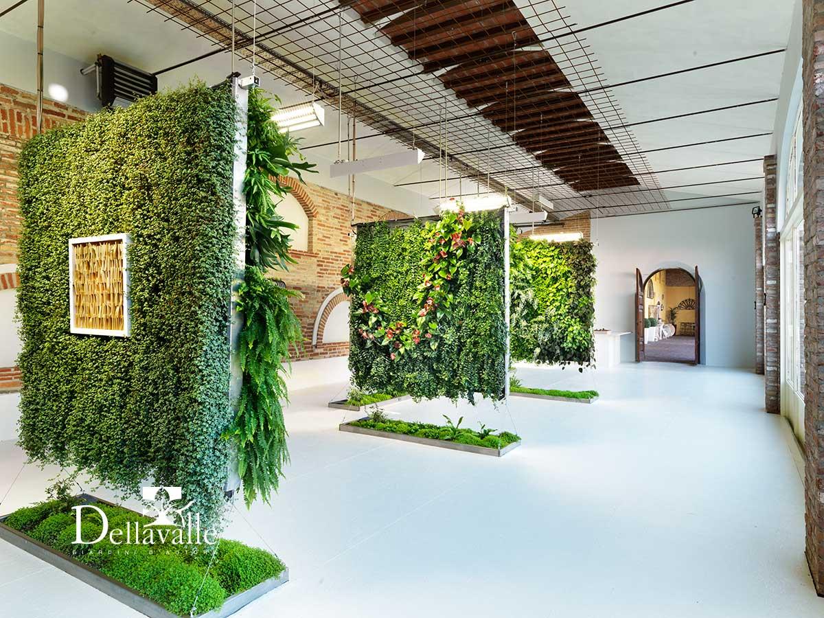 showroom giardini verticali dellavalle giardini