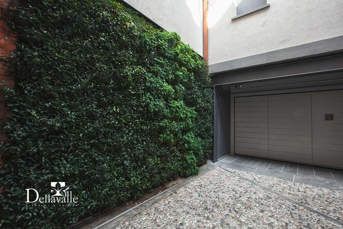 pareti verdi verticali